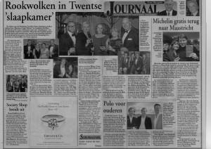 Presentatie tijdens het Grand Gala du Sigare 2012 in Landhuishotel De Bloemenbeek (Stan Huygens Journaal)